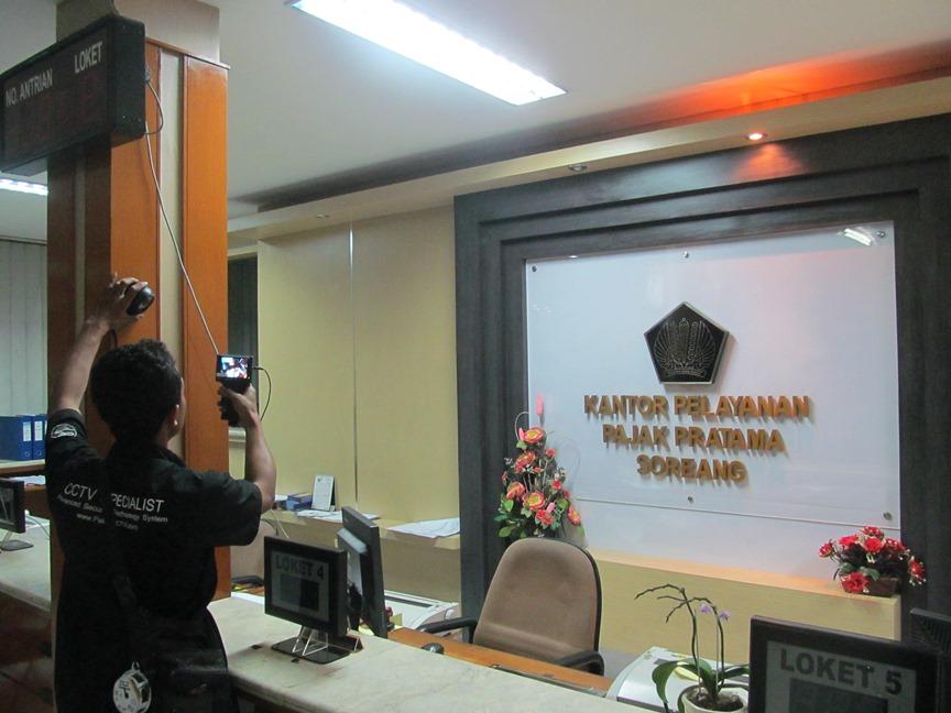 pemasangan pakarcctv di kantor pajak cimahi (1)