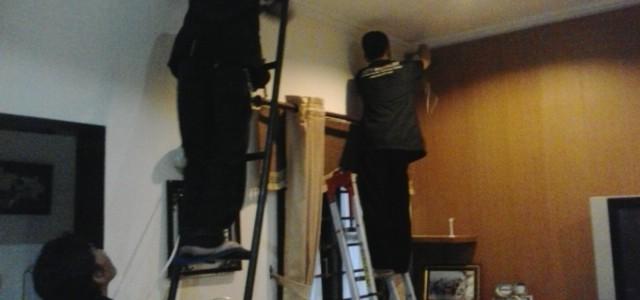 Pemasangan CCTV pada Rumah Ibu Dokter di Perumahan Jl Pesantren Cimahi