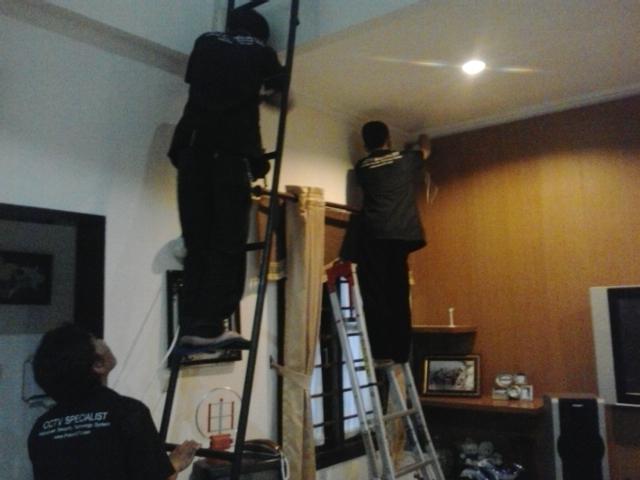 Pemasangan Pada Rumah ibu Dokter jl Pesantren Cimahi