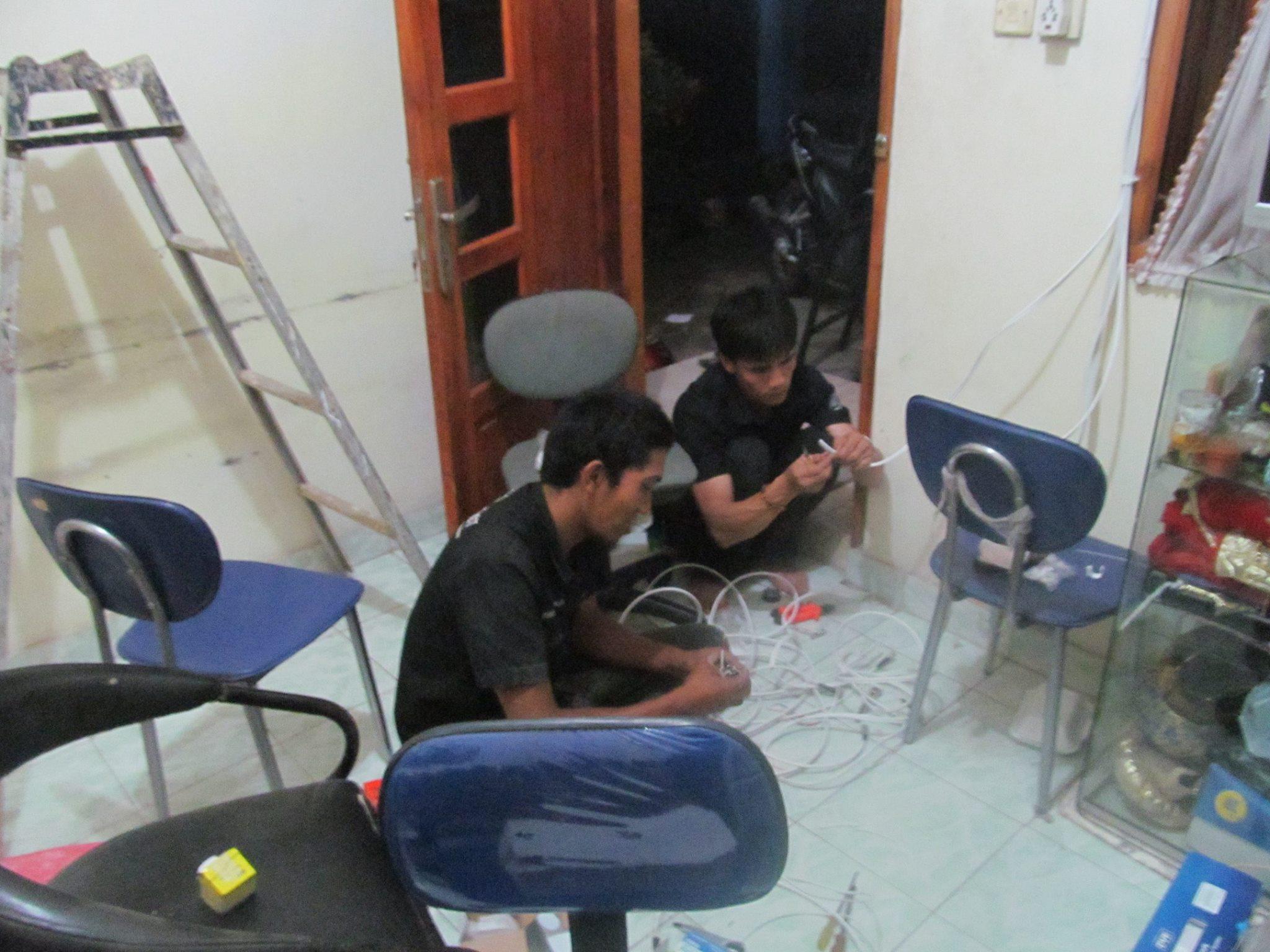 Pemasangan CCTV di Area TELKOM BANDUNG