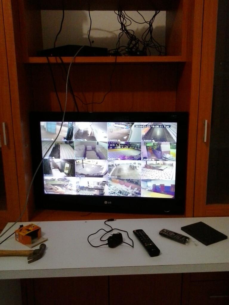 Pemasangan CCTV Pada Cargo Bandara International Husain Sastranegara Bandung