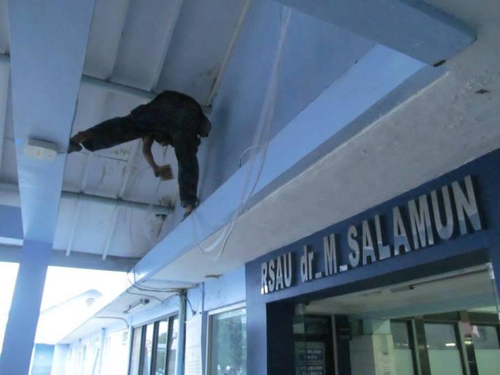 Pemasangan CCTV di RS Angkatan Udara SALAMUN BANDUNG 32 Camera