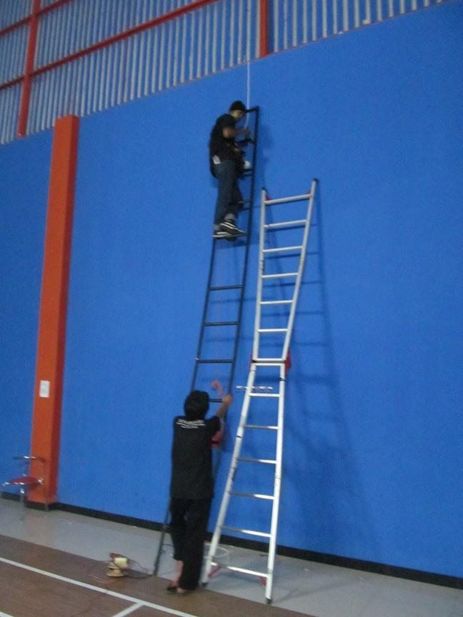 Pemasangan Cctv di Lapangan Futsal Garut GGSportCenter