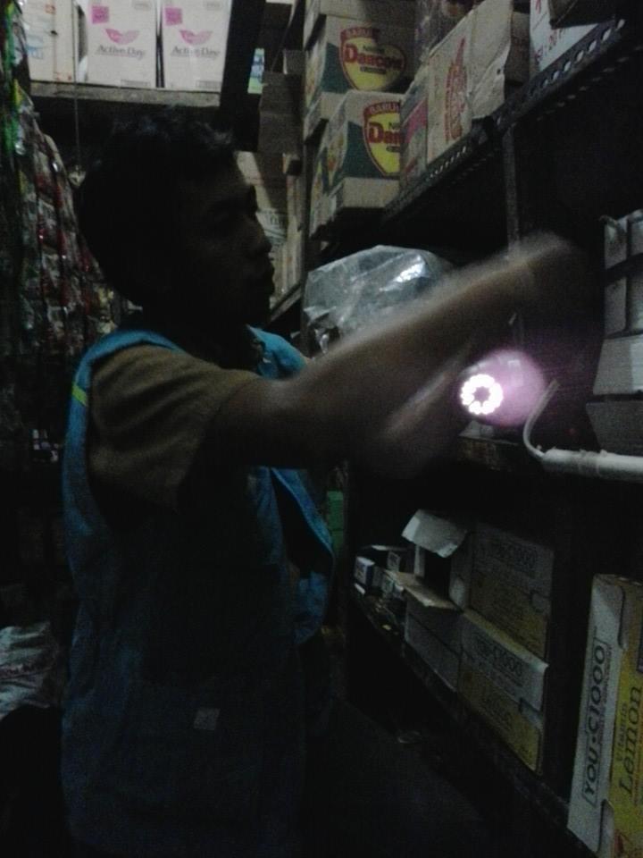 Pemasangan CCTV di Toko Grosir Sembako Berkah Ciwaruga Bandung
