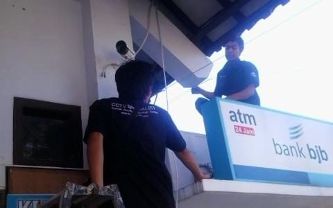 Pemasangan CCTV pada ATM BANK BJB