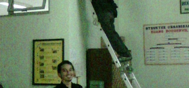 Pemasangan CCTV pada Dinas Pendidikan JawaBarat