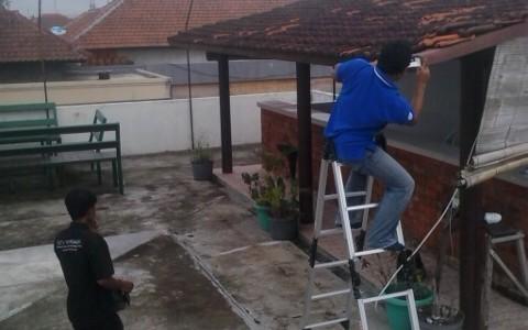 Pemasangan CCTV pada Perumahan DPRD Ciwastra Bandung
