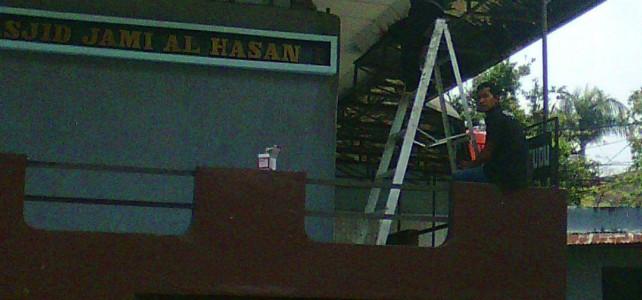Pemasangan CCTV pada Masjid Jami Hasan Bandung