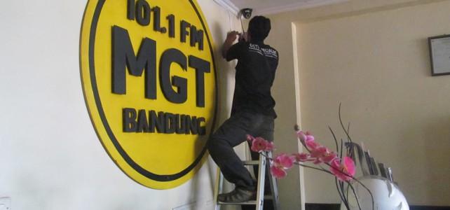 Pemasangan CCTV di MGT Radio Jl Buah Batu No 8 Bandung 8 Camera