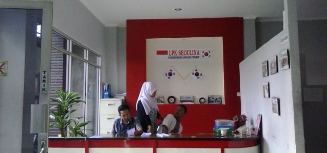 Pemasangan CCTV pada LPK SEOULINA Rancaekek Bandung
