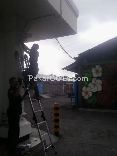 Pemasangan CCTV di Beberapa Area Pertamina di Bandung