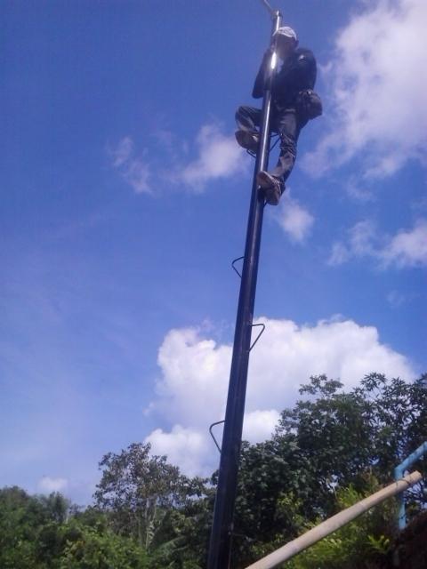 Pemasangan CCTV pada Mega Project Benoa Bay Sand Bali