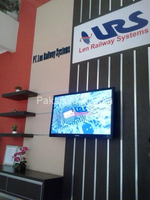 Pemasangan CCTV pada PT LEN Railway System Soekarno Hatta Bandung