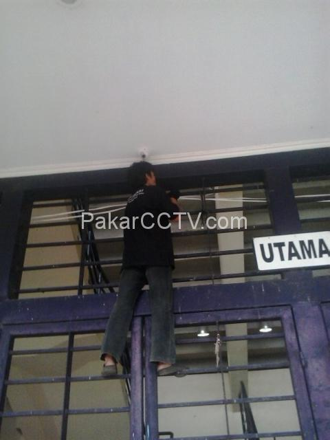 Pemasangan CCTV pada Stadion Jalak Harupat Soreang Bandung 16Camera
