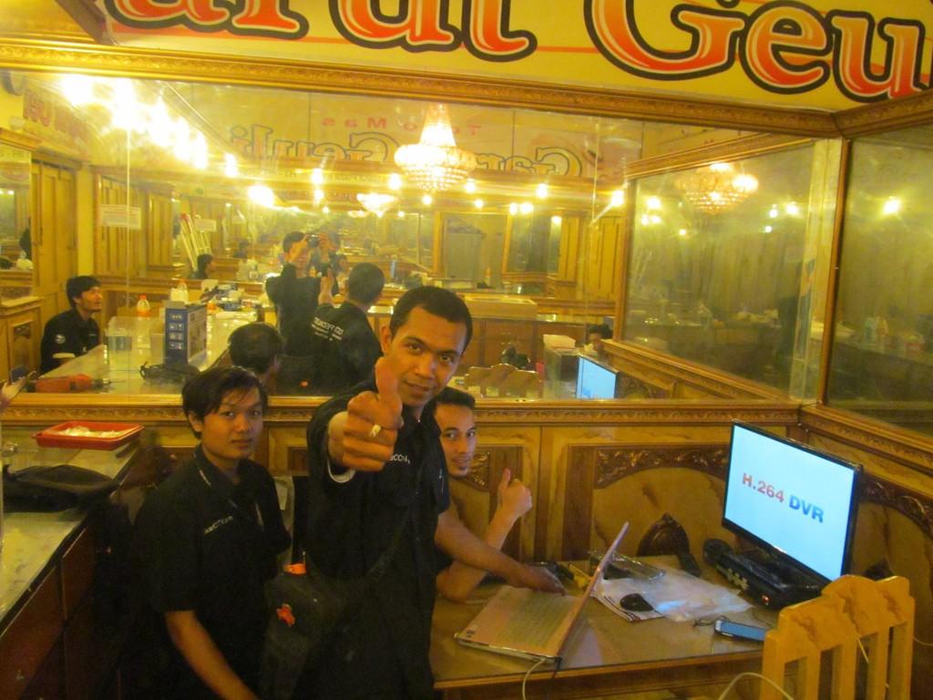 Pemasangan CCTV di Toko Mas Garut Geulis GP Garut