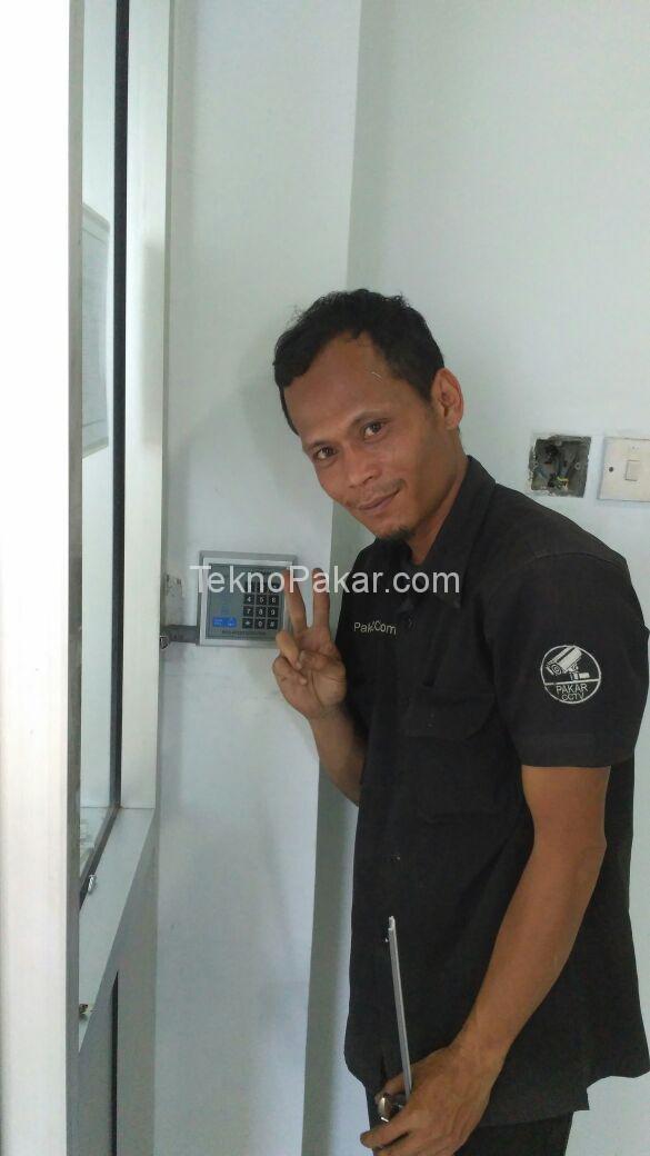 Pemasangan Access Control Gedung Arsip Negara Jawa Barat 3 Pintu