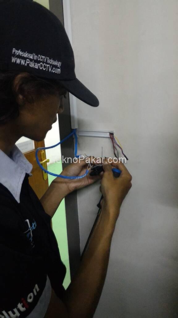 Pemasangan Access Control PT Noritake 2 Pintu