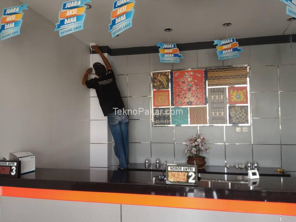 Pemasangan CCTV Bank BRI Corporate Lembang 20 Channel IP