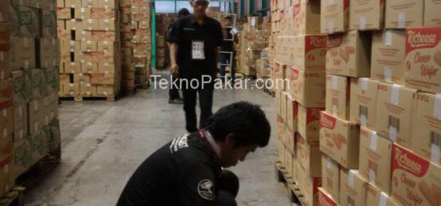 Pemasangan CCTV Gudang PT.Nabati Rancaekek 32 Channel IP