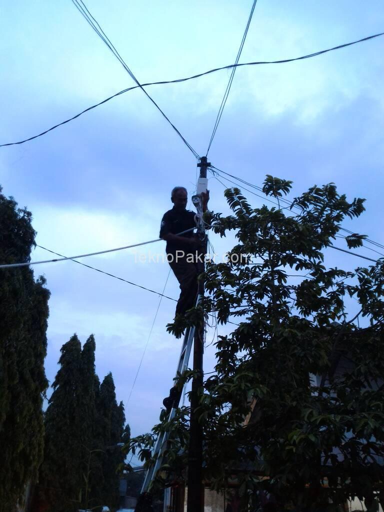 Pemasangan CCTV Komplek RW Cikutra 16 Channel 2.0MP