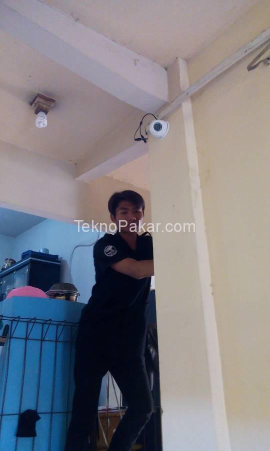 Pemasangan CCTV Pemasangan CCTV Pondok Aisyah Jatinangor 5 camera HDCVI 2.0MP