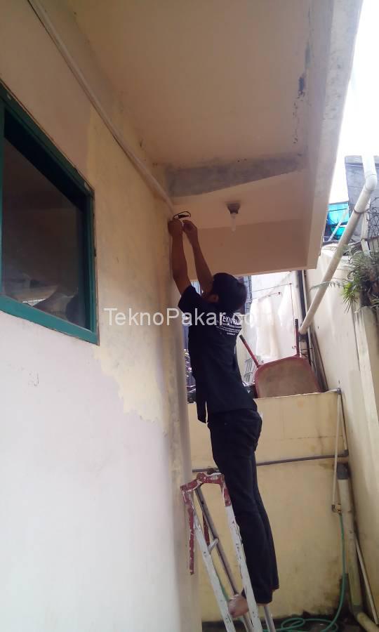 Pemasangan CCTV Pondok Aisyah Jatinangor 5 Camera HDCVI 2.0MP