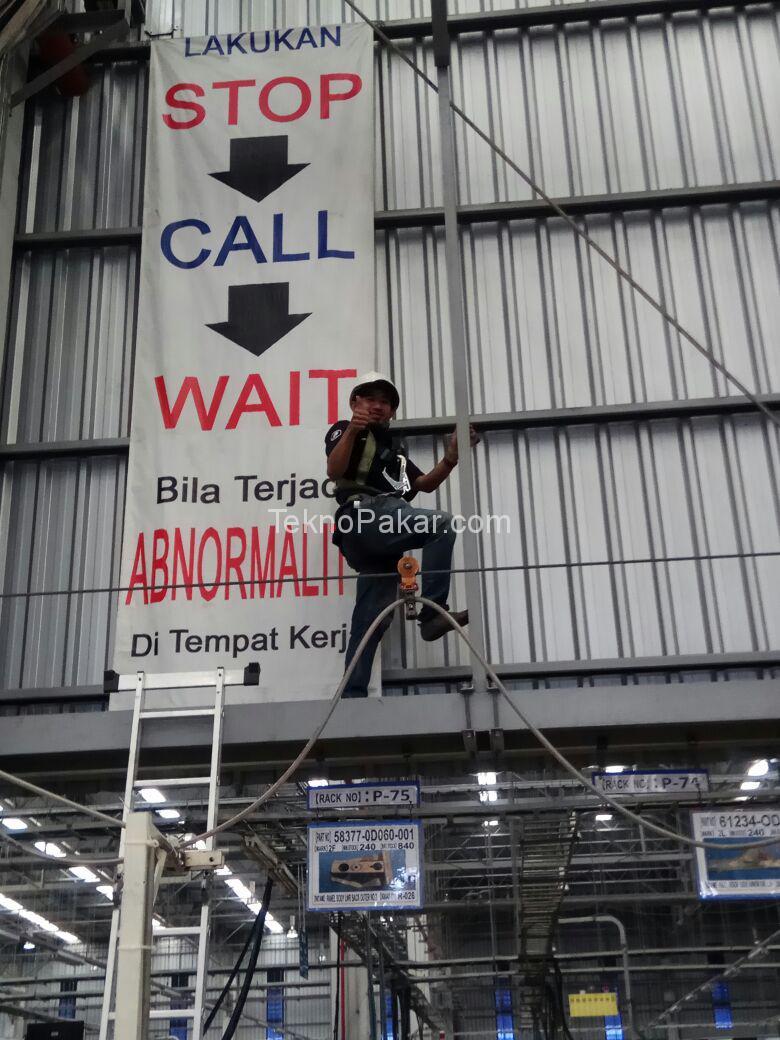 PEMASANGAN CCTV 8CH HDCVI 2.0MO PT.FUTABA BEKASI
