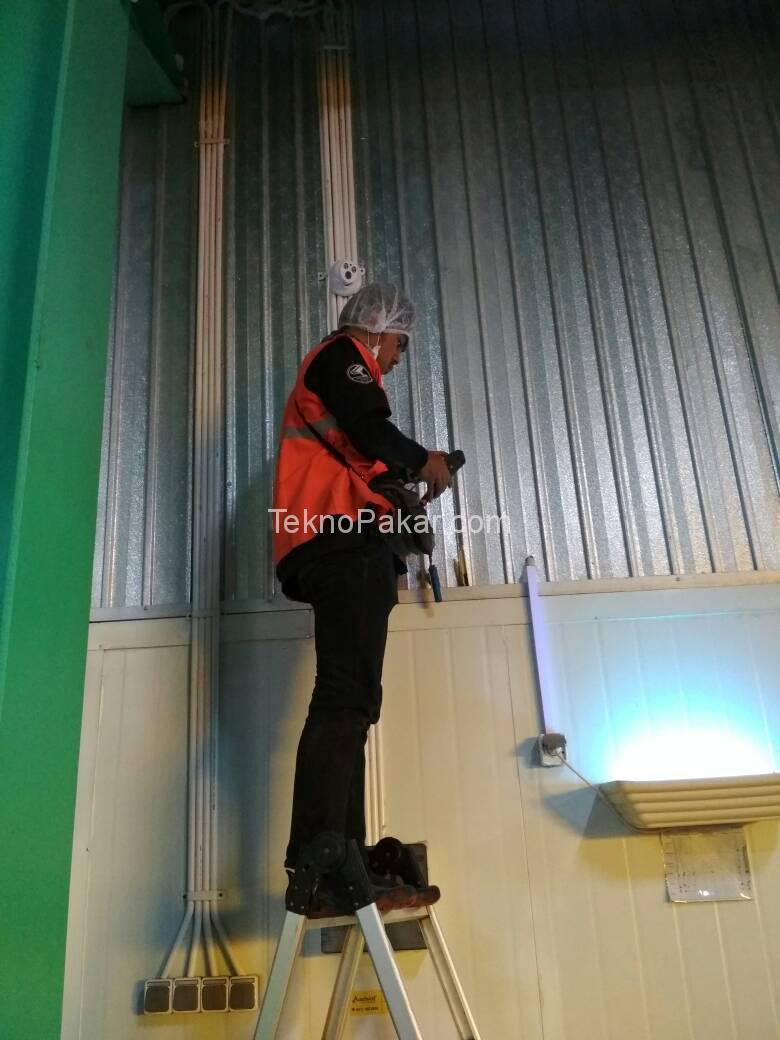 Pemasangan CCTV 72CH Cam IP 2.0MP PT NABATI Majalengka