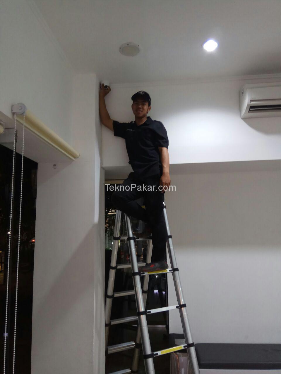 Pemasangan CCTV MD Clinic Buahbatu 4 CH 2MP HDCVI