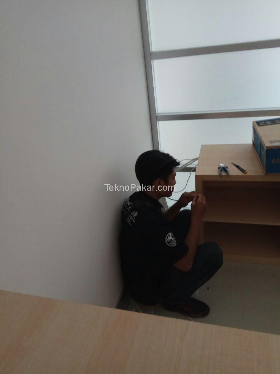 Pemasangan CCTV di Bank BJB Pangandaran 8 CH 2MP HDCVI