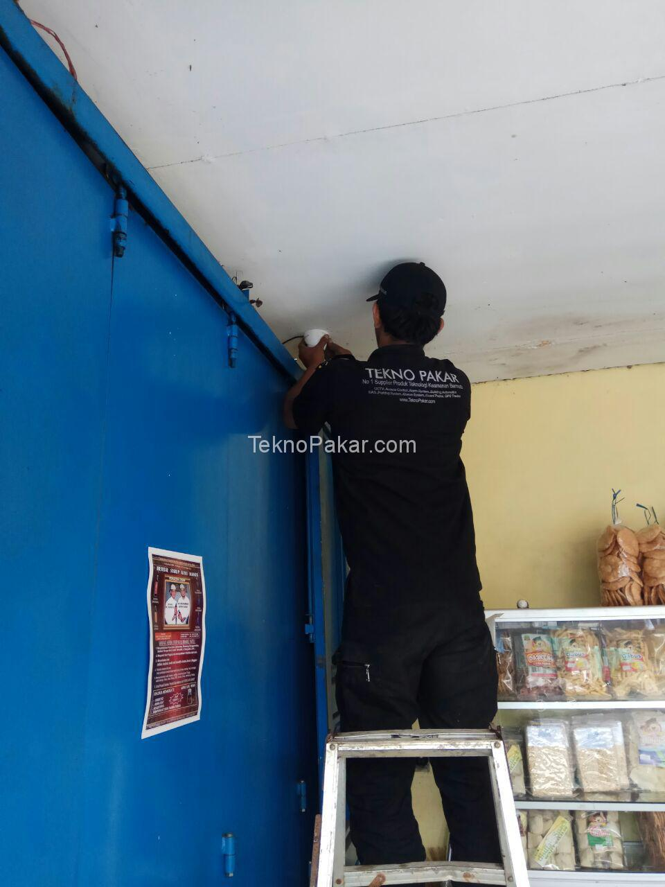 Pemasangan CCTV Camera di Rumah Makan ASTI Pangalengan HDCVI Resolution 2MP